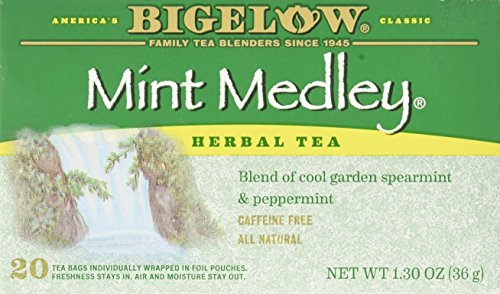 Bigelow Tea Mint Medley Herb Tea Spearmint and Peppermint - 20 Tea Bags