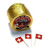 Tete de Moine Reserva ca 800g en toda Pan para Quesos Tete de Moine AOC Suiza Queso de infundibulicybe geotropa