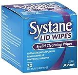 Systane Tapa Wipes Toallitas Limpiadoras de párpado 30cada