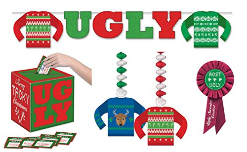 Beistle Ugly Sweater Party Kit