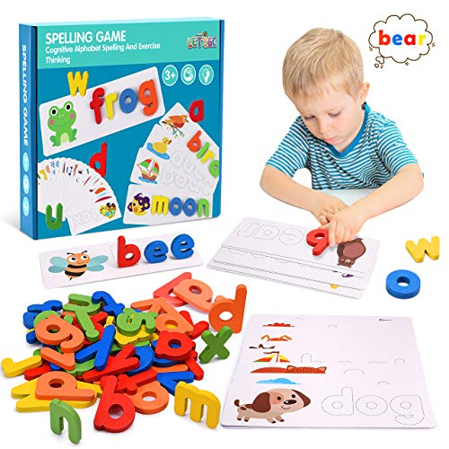 Tesoky Educational Toys for 2-8 Year Old Boys Girls,Kids Learning Toys Age 3-8...