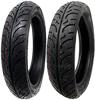 MMG Tire Set Front 100/80-16 Rear 120/80-16 for Malaguti Suzuki SYM Yamaha Honda Motorcycles