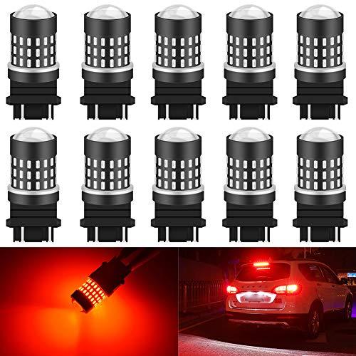 Katur 1156 BA15S 7506 1073 1095 Ampoule LED haute puissance 3014 54 Chipsets Super Lumineux 650 lumens Remplace pour clignotants arrière de freinage arrière feux de stationnement de camping-car Blanc xénon