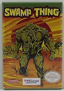 Swamp Thing Game Box Refrigerator Magnet.