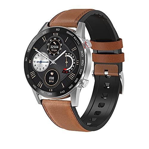 Smartwatch, Reloj Inteligente Pantalla TFT de 1,3 pulgadas, Pulsera Actividad con Monitor de Sueño Contador, Pulsómetro, Podómetro IP68 Impermeable Monitor de Actividad Deportivo,para iOS Android