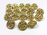 Zoom IMG-1 set 10 bottoni gioiello alta