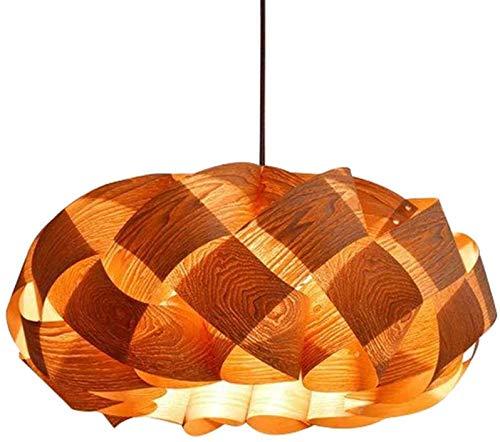 GaLon Nordic Houten Hanglamp Zuidoost-Azië Natuurlijke Bamboe Kroonluchter E27 DIY Hand Geweven Lampenkap Hoogte Verstelbare Restaurant Cafe Eetkamer Plafond Hanglamp