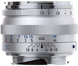 ZEISS Ikon C Sonnar T ZM 1.5/50 Standard Camera Lens for Leica M-Mount Rangefinder Cameras