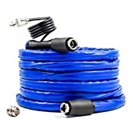Camco 25ft TASTEPure Heated Drinking Water Hose with Energy Saving Thermostat - Lead and BPA Free (22911)