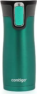 Contigo AUTOSEAL West Loop Stainless Steel Travel Mug, Caribbean Trans Matte Limited edition by Contigo, 16-ounce