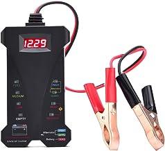 AUTDER Car Battery Tester 12V Digital Battery Tester Voltmeter and Alternator Charging..