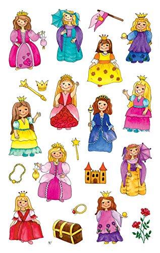 AVERY Zweckform 53198 Kinder Sticker Prinzessin 63 Aufkleber