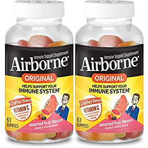 WHAT IS IT: This is a unique Vitamin, Mineral & Herbal blend that helps support your immune system.* Airborne is more than just Vitamin C though. This supplement is high in antioxidants (Vitamins C & E), and is an excellent source of Selenium. It is ...
