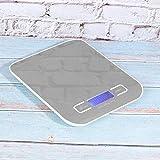 Redxiao 【𝐎𝐟𝐞𝐫𝐭𝐚𝐬 𝐝𝐞 𝐁𝐥𝐚𝐜𝐤 𝐅𝐫𝐢𝐝𝐚𝒚】 Báscula electrónica, 5Kg / 1g Báscula electrónica portátil de Acero Inoxidable Báscula de Cocina doméstica