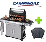 BARBECUE A GAS GPL (BOMBOLE) CAMPINGAZ MODELLO 4 SERIES RBS EXS CON CUPOLA IN...