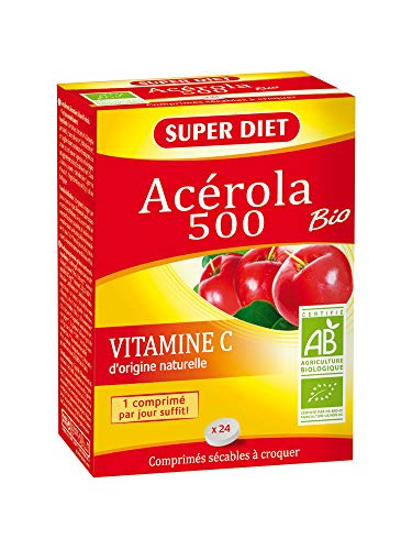 Super Diet Acérola 500 Bio 24 Comprimés