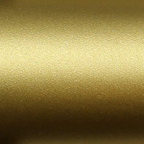 TipTopCarbon 6,45€/m² Möbelfolie Gold Matt Klebefolie 5m x 62cm selbstklebende Plotterfolie matte