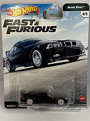 Hot Wheels Fast & Furious Collection BMW M3 E36 Vehicle 1:64 Scale from The Fast Film Franchise, Modern & Classic Cars, Great Gift for Collectors & Fans of The Movies