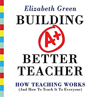 Building a Better Teacher audiobook cover art