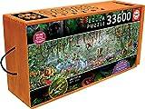 Educa Borrás- Animales Salvajes Puzzle, 33600 piezas
