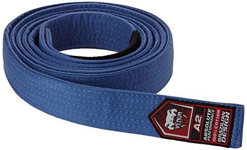 Venum Unisex Erwachsene Gürtel Brazilian Jiu-Jitsu Belt, Blau, A2