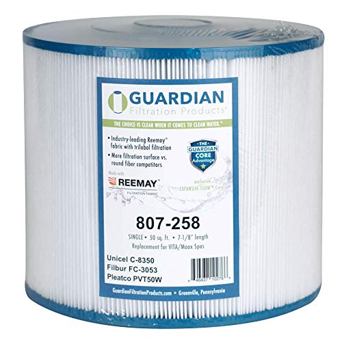 Guardian Pool Spa Filter Replaces Pleatco: Pvt50W Unicel C-8350 FC-3053 Leisure Bay Maxx Vita Spas