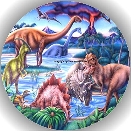Premium Esspapier Tortenaufleger Dinosaurier AMA 16