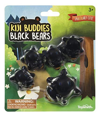 Toysmith Kiji Buddies Black Bear Family Set