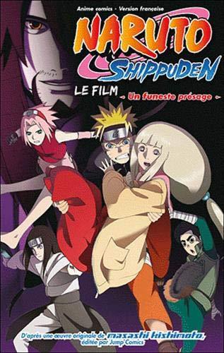 Anime comics naruto shippuden - un funeste présage