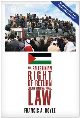 The Palestinian Right of Return Under International Law (English Edition) PDF Books