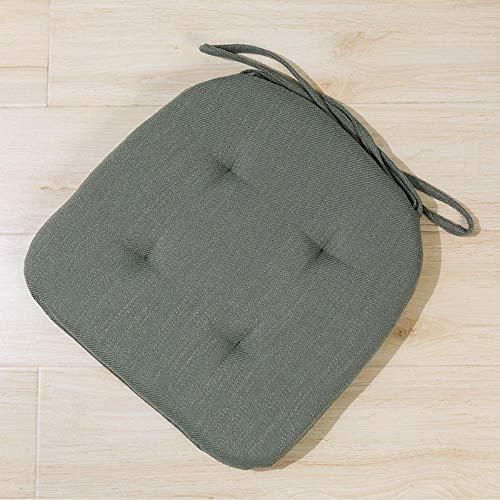 Miwaimao führte Leinenkissen mit bequemen Kissen herausnehmbaren Kissen - Innen- und Außen Wohnzimmer Terrasse Garten Büro Kaffee,Avocado grün # 3,42 * 42 * 3,5 cm