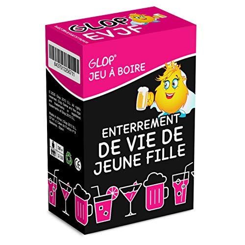 Glop Enterrement de Vie de Jeune Fille - EVJF - Jeu à Boire - Jeu EVJF - Bride to Be - Team Bride -...