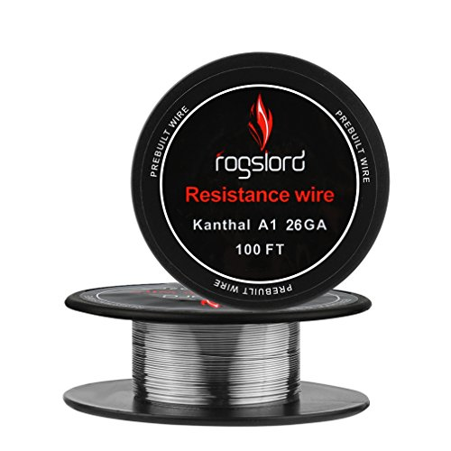 Resistance Wire Kanthal A1-26 AWG Gauge Spools 100 Feet