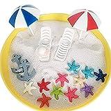 musykrafties Plastik Sommer Strand Stühle mit Regenschirme Aquarium Terrarien Miniatur Fee Gärten...