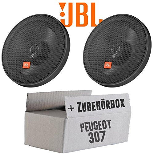 JBL STAGE2 624 | 2-Wege | 16cm Koax Lautsprecher - Einbauset für Peugeot 307 - JUST SOUND best choice for caraudio