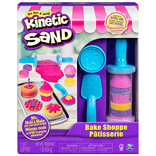 Kinetic Sand 6045940 - Bäckerei Spielset, 454 g Sand