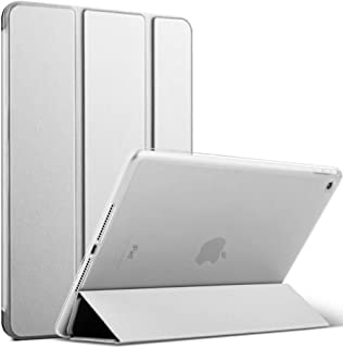 iPad mini5 2019 スマートカバー ケース 三つ折り保護カバー クリアバックケース 自立スタンド・オートスリープ機能軽量・薄型・ハードタイプA2133/A2124/A2126/A2125【レビュー投稿で3in1充電ケーブルをGE...