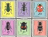 Prophila Collection DDR 1411-1416 (kompl.Ausgabe) 1968 Käfer (Briefmarken für Sammler) Wirbellose Tiere Sonstige