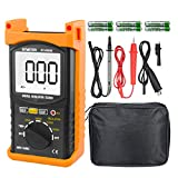 Digital Insulation Resistance Tester, BTMETER BT-6688B with Test Voltage 5000V, Insulation Resistance 200G ohms, High Voltage Indication
