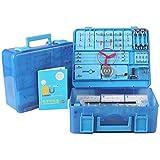 Wghz Kit de exploración de circuitos electrónicos Kits de experimentos de circuitos Juguete Educativo de Ciencia Stem para niños Mayores de 8 años