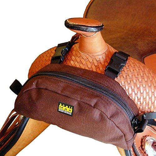 Trailmax Pommel Pocket. Satteltasche Western Packtasche braun
