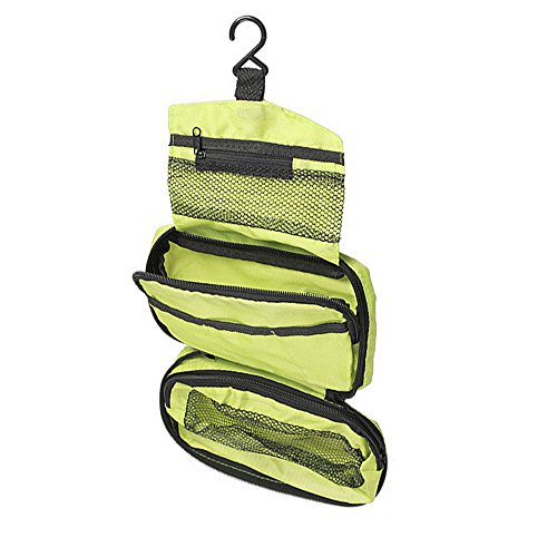 Suspendre Voyage Toiletry Wash Bag (Vert)
