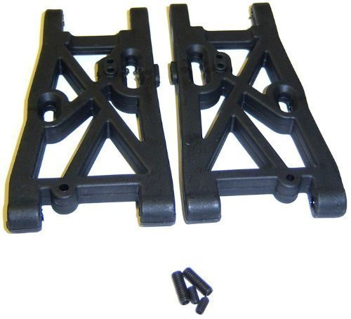 81056 Plastic Black RC Rear Lower Suspension Arms 1/8