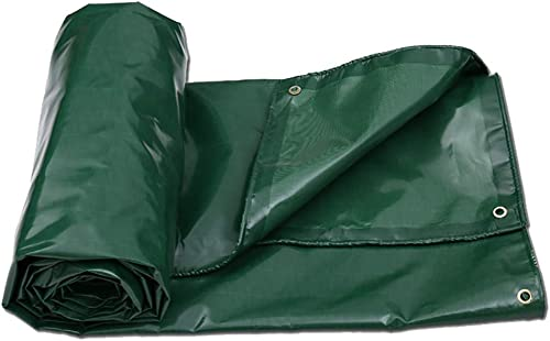 JINSH Tente extérieure bache Robuste imperméable en Plein air Toile de Pluie Tente de Couverture (Couleur   A, Taille   5×7m)