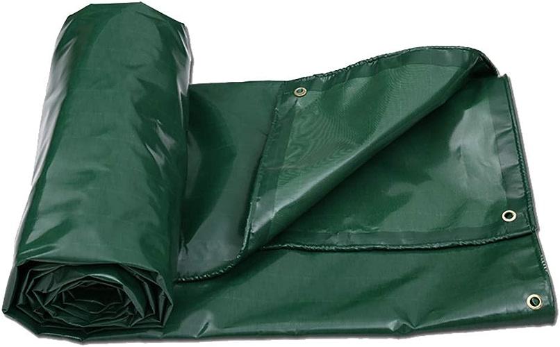 12-Huisongda Tente extérieure bache Robuste imperméable en Plein air Toile de Pluie Tente de Couverture (Couleur   A, Taille   4×6m)