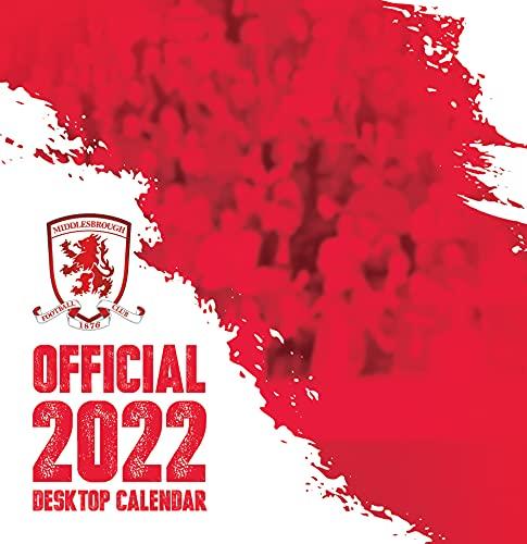 The Official Middlesbrough FC Desk Calendar 2022