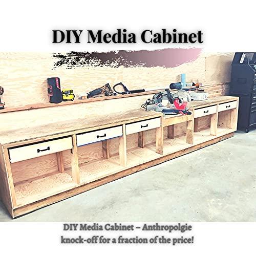 DIY Media Cabinet : DIY Media Cabinet – Anthropolgie knock-off for а fraction оf thе price!...