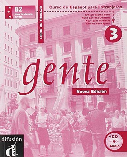 Gente 3, libro de trabajo + CD (Spanish Edition) by Neus Sans Baulenas, Ernesto Martin Peris, Nuria Sanchez Quin (2001) Textbook Binding