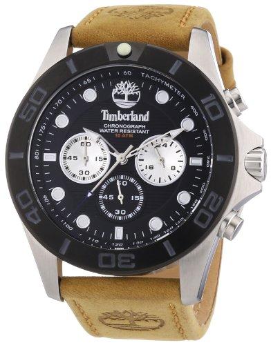 Timberland TBL.13909JSTB/02 - Orologio da polso uomo, pelle, colore: marrone