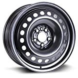 RTX, Steel Rim, New Aftermarket Wheel, 17X7, 5X110, 65.1, 46, black finish X47510
